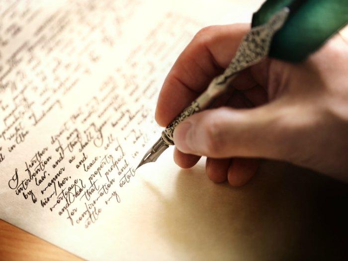 Estudio de la escritura con el propósito de determinar rasgos de la personalidad de un individuo.