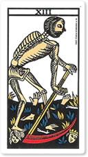 la muerte carta tarot significado