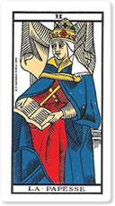 II La Papesse (La Papisa o La Sacerdotisa)