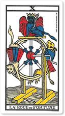 X La Roue de Fortune (La Rueda de la Fortuna)