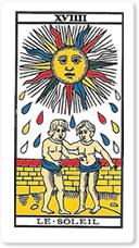 XVIIII Le Soleil (El Sol)